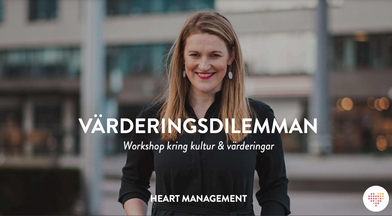 Led en workshop som sätter värderingar på agendan – exempel på upplägg